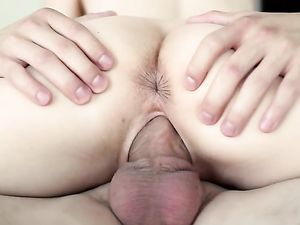 Wet Teen Cunts Take Turns Riding His Big Dick