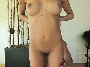 Tight Body Coated In Oil Before They Fuck