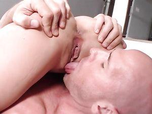 Big Boobs Young Slut Fucked In Her Bald Vagina
