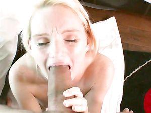 Big Dick Fucks The Cutest Teenage Blonde Chick