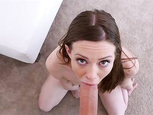 Flexible Fuck Positions With A Petite Brunette Teen