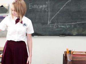 Teacher Creampies His Beautiful Schoolgirl Student