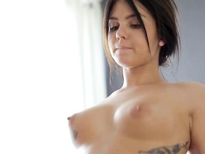 Tattooed Young Lady Ass Fucked On The Massage Table