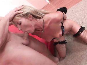 Rough Anal Sex With The Girl In Fishnet Stockings