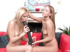 High Heel Hotties Have Lesbian Dildo Sex