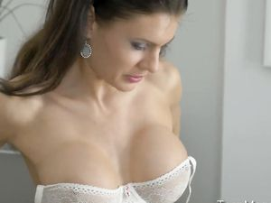 Busty Lingerie Model Is His Naughty Anal Slut