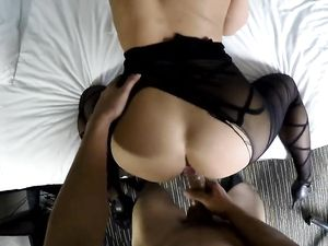 Beauty Paid To Suck And Fuck His Rock Hard Dick