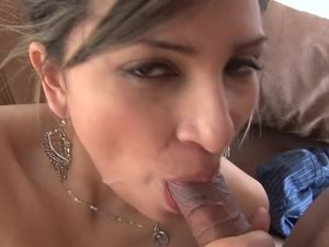 Curvy Latina Gets The Cock And Cum She Desires