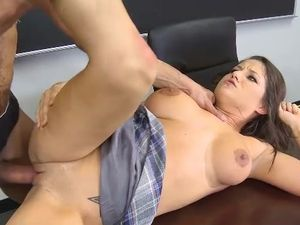 Big Teacher Cock For The Curvy Schoolgirl