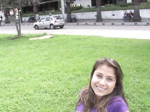 Pick Up A Pretty Girl In The Park For Hot Sex