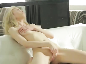 Lithe Young Lady Arouses In A Sexy Striptease Scene