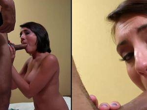 Big Hot Facial For The Naughty Cock Slut