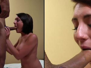 Big Hot Facial For The Naughty Cock Slut