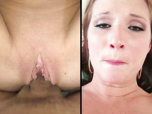 Cutie Loves Girl On Top Sex With A Big Dick